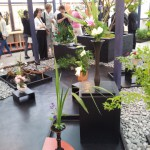 Auf- und Abbau in der Villa Flora Ikebana International
