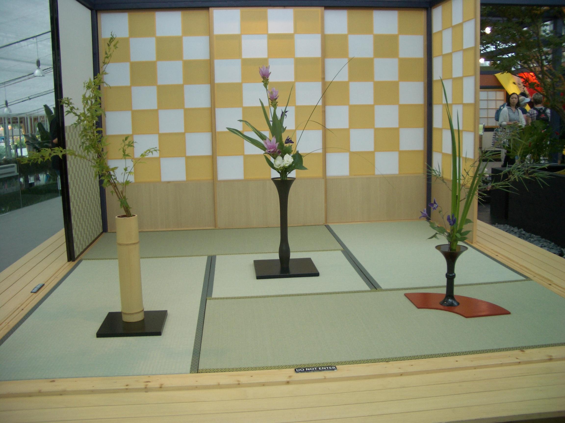 Tokonoma in der Villa Flora